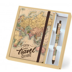 Total GIFT MAPS A5 Pen Set...