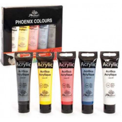PHOENIX 5x100ml acrylic...
