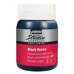 GESSO PEBEO 500ml black