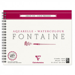 Clairefontaine watercolor...