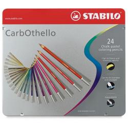 Μολύβια STABILO CARBOTHELO σετ 24 τεμαχίων