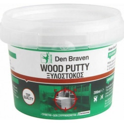Wood putty white DEN BRAVEN...