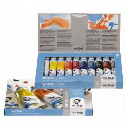Van Gogh watercolors set 10...