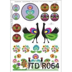 Ριζόχαρτο DECOUPAGE A4 ITD-R064