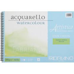 Spiral watercolor pad...