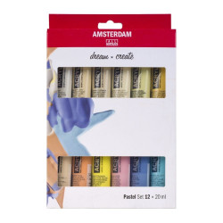 Acrylic colors TALENS...