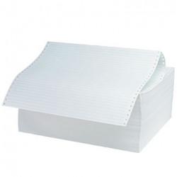 Μηχανογραφικό χαρτί 9,5x11 ριγέ πράσινο κούτα 2000 φύλλων