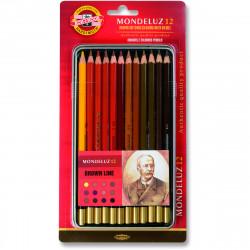 Watercolor pencils...