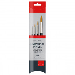 Brushes synthetic set of 4...