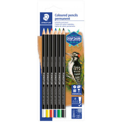 Coloured permanent pencils...