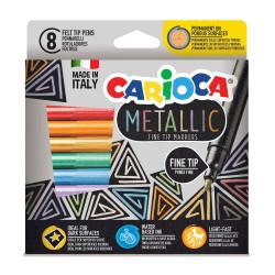 Metallic CARIOCA markers...