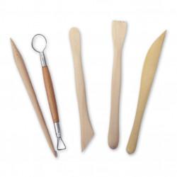 Ceramic tools set of 5...