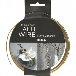 Aluminum wire gold plate...