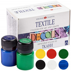 Colors for DECOLA fabric...