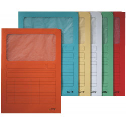 Binder with LEITZ 3950 window