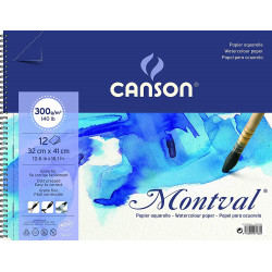 _ CANSONVAL watercolor pad...