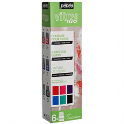 Colors for glass PEBEO...