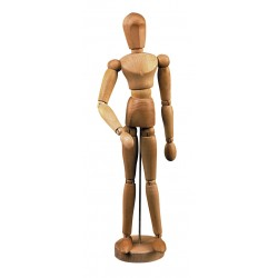 Wooden painting mannequin...