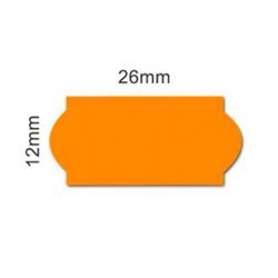 Label films 26x12 orange...