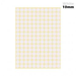 Sticky dots white 13mm