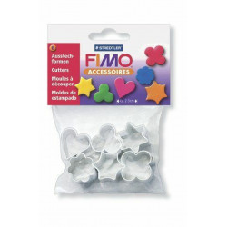 FIMO metal clay forms...