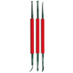 Copper tools set of 3 pieces