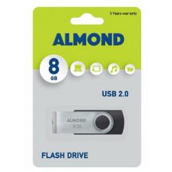 USB STICK ALMOND 8GB