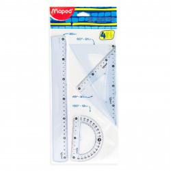 Geometric instruments set...