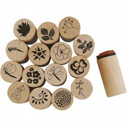 Wooden seals various set of...