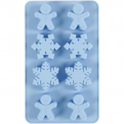 Silicone Mould Ice Crystals...