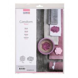 GLOREX 61600424 ROSES Moulds