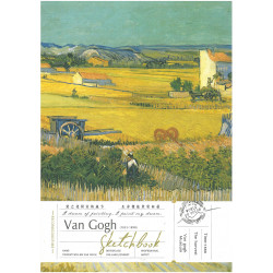 SKETCH BOOK VAN GOGH B5 The...