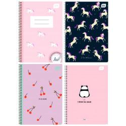 Spiral notebook 17x25...