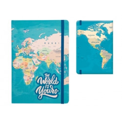 TOTAL GIFT MAP A5 notebook