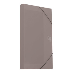 File box A4 plastic 3cm GREY