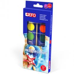 EFO watercolors 12 colors