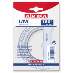 Protractor ARDA 180 degrees...