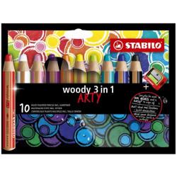 STABILO WOODY ARTY 3 in 1...