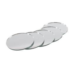 Mirrors round set of 12...