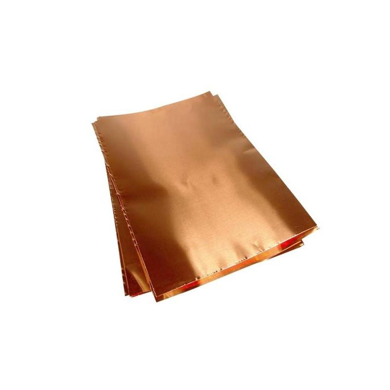 Φύλλο χαλκού 30x40 πάχους 0,12mm
