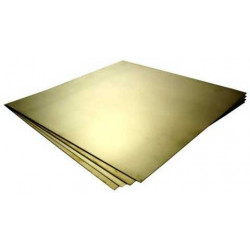 Brass sheet 30x40cm, 0.15mm...