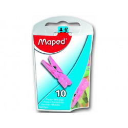 MAPED Coloured pegs 344011