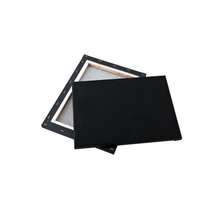 Τελάρο με μουσαμά μαύρο 30x40cm
