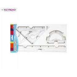 Σετ γεωμετρικά όργανα KEYROAD 971068