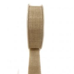 Ribbon linen 2.5cm x 4.5m