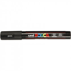 UNI POSCA PC-5M BLACK marker