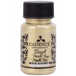 DORA METALLIC CADENCE WHITE GOLD 50ml 148