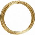 Σύρμα αλουμινίου χρυσό 2mmx10m