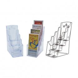 Form stand 1/3 A4 quadruple