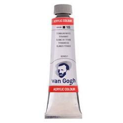 Acrylic VAN GOGH 40ml WHITE...